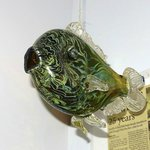 Hand crafted glass fish as decoration