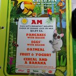 onyx kids menu