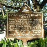 Info re Degas House