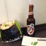 Moshikos y cerveza