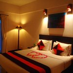 Our romantic room