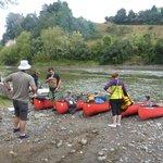 Start at Taumarunui Canoe Hire