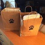Dog gift bags!