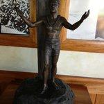 "Duke statue at ""Duke's"" on Kaanapali beach. Maui. Hawaii"