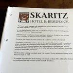 Skaritz Hotel - History