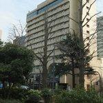 Front (harborside) of hotel from Yamashita Park