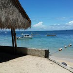 View from Cocos Beach Restaurant