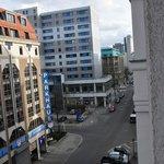 Blick aus dem Fenster nach rechts