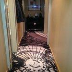 Hallway in deluxe suite