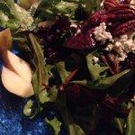 Fuji apple & pecans salad