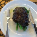 Angus beef dinner - large portion, melt in your mouth flavours