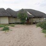 The Tau Pan main lodge