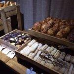 Breakfast bread selection