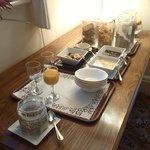 Breakfast - side table