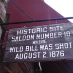 Dead Mans Hand in Deadwood Saloon No. 10