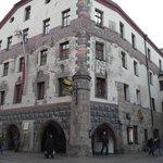 Goldener Adler Hotel in die Altstadt