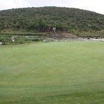 18th Green - Crocodile river & Kruger National Park
