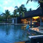 Magnifique piscine en ardoise