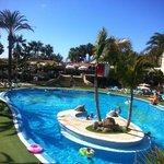 Una de las fantásticas piscinas