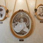 Photos of Walt Disney with his parents in Walt's.