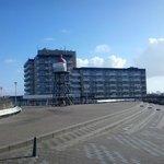 Hotel aan de boulevard in Kijkduin, Den Haag