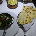 Lamb Sagwalla with Plain Naan