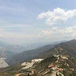 Vista desde mirador 360° Panachi
