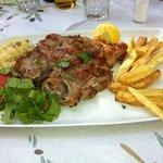 Veal steak..