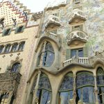 Walking distance from Casa Batllo