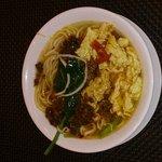 Fantastic Soup - minced pork with egg and noodles