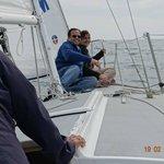 On a sailboat from the Santa Barbara waterfront