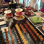 Friday Brunch mini desserts selection