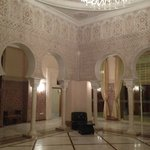 Moroccan theme in hotel