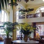 Delightful Victorian Lobby