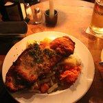 Good sized schnitzel