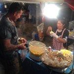 Nathon night market.
