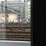 vue de la chambre si vous êtes controleur ferroviaire vous vous croirez au boulot !