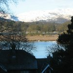 View from the room looking over Lake Windermere