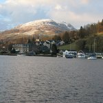 View from Lake Windermere towards Ambleside .. and beyond