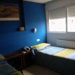 la stanza 1 (due letti singoli separati)