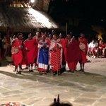 masai al villaggio