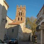 Le clocher de l'église de CLAIRA