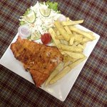 barbeque fish & chips