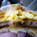 Breakfast Sausage CrunchWrap