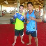 Trainer, professional MMA fighter and top-ranked Wushu fighter Richie Redman