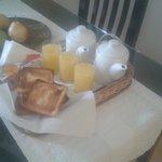 Desayuno no quarto