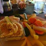 hummus lunch!