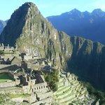 Machu Picchu ar sunrise