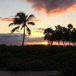Sunset at Dukes on Kaanapali beach