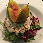 Fig & Goats Cheese Salad